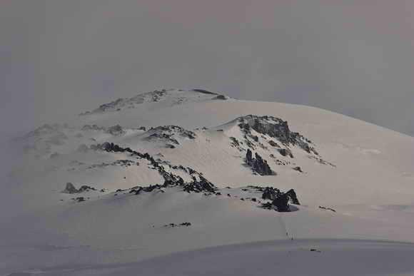 Восхождение на Эльбрус с севера. Скалы Ленца