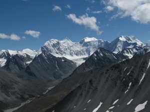 Алтай. Гора Белуха. Катуньский хребет