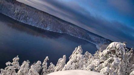 Озеро Ястребиное, Большие скалы: поход на лыжах. Фотоотчет
