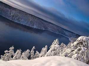 Озеро Ястребиное. Художественное фото