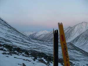 Сломанная лыжа 2