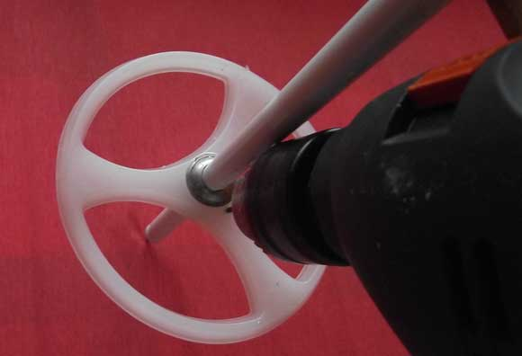 Сверлим кольцо. Тюнинг лыжных палок. Фото 2