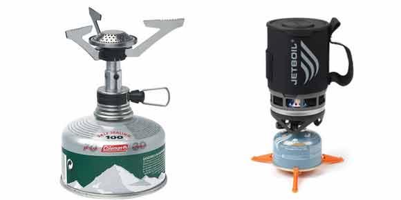Газовая гарелка бесшланговая и система приготовления пищи
