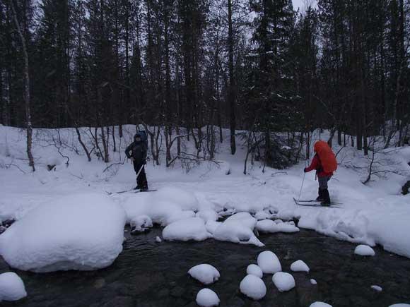 Переправа через реку Гольцовка