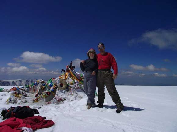 Монгун-Тайга. Вершина
