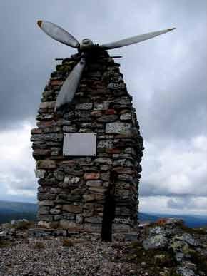 Памятник летчикам, погибшим во время ВОВ