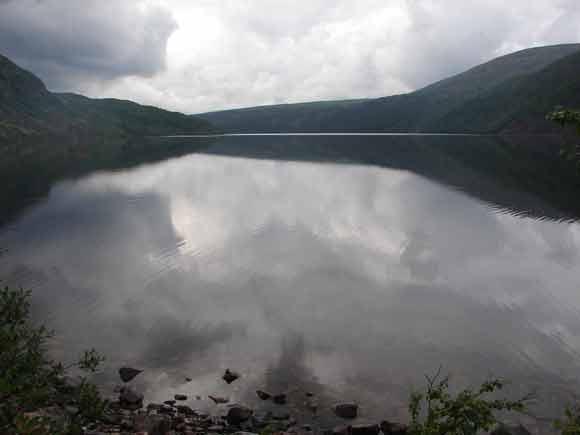 Озеро рядом с вершиной Хипик