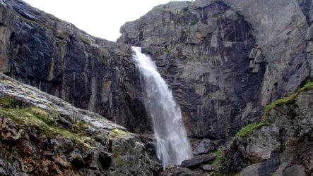 Лапландский заповедник: Чуна- и Мончетундра. Водопады и горные плато. Фотоотчёт о походе