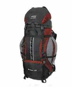 Туристический рюкзак со скрытыми боковыми карманами