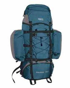 Туристический рюкзак с накладными карманами
