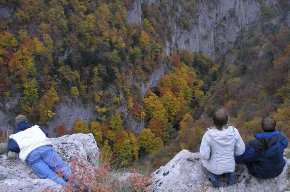 Панорама Большого каньона Крыма
