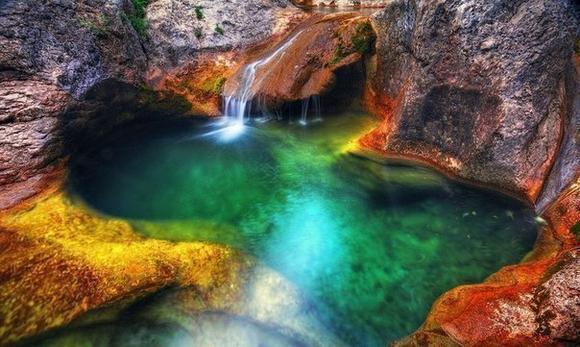 Большой каньон Крыма: Ванна Молодости