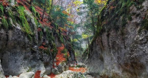 Большой каньон Крыма: коридоры