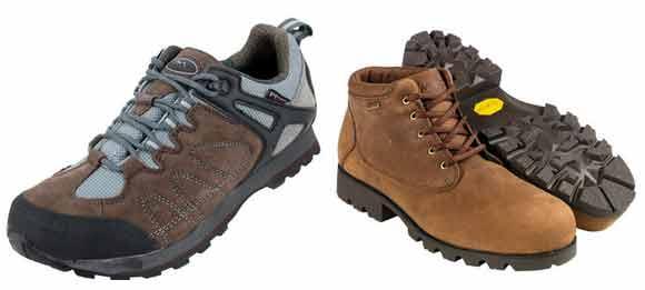 Треккинговые кроссовки и туристические ботинки
