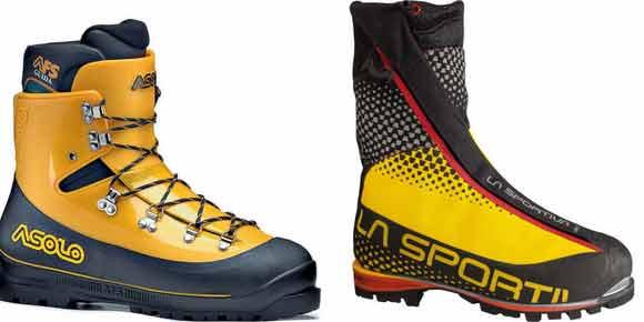 Альпинистские ботинки и сапоги