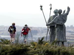 Паломники на Пути Сантьяго