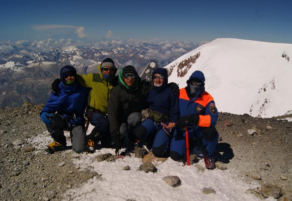 Восточная вершина Эльбруса