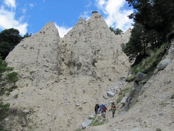 Песчанники у поселка Эльбрус