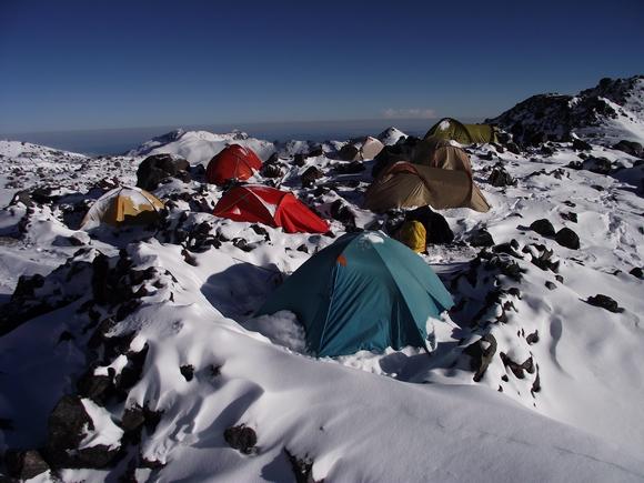 Северные стоянки - лагерь