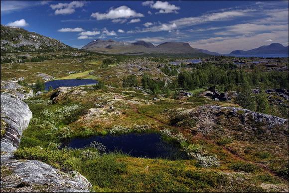 Национальный парк Сарек - у подножия горных массивов