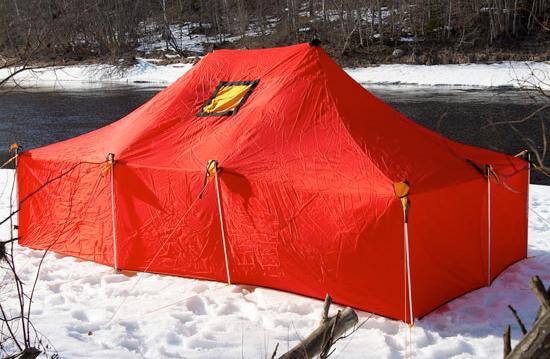 "Палатка под печку ""Вьюга"""