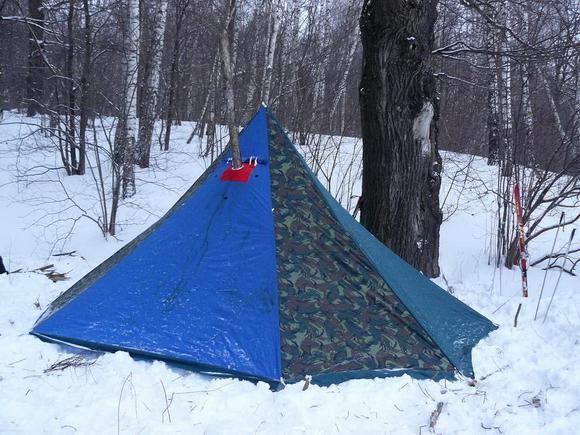 """Палатка для зимних походов """"Чум"""""""