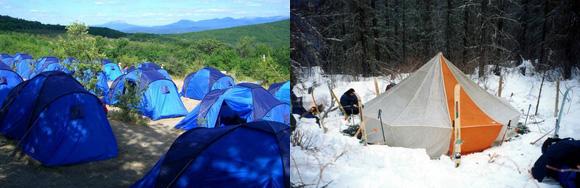 Как выбрать палатку туристическую: кемпинговые палатки и палатка-шатровка