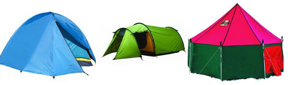 Как выбрать правильную туристическую палатку: формы