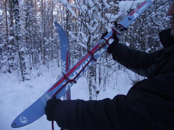 Как подняться на лыжах в гору используя репшнур