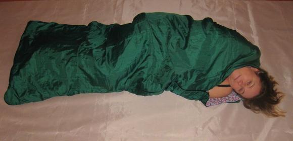 Спальный мешок одеяло - особенности конструкции