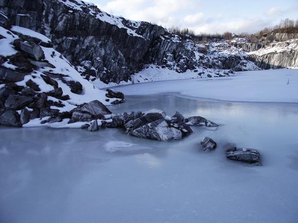 Пейзажи неизвестного мраморного каньона Рускеала
