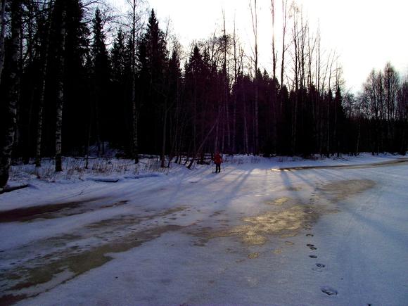 Ледяное русло Тохмайоки
