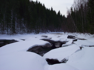 Водопад Рускеала