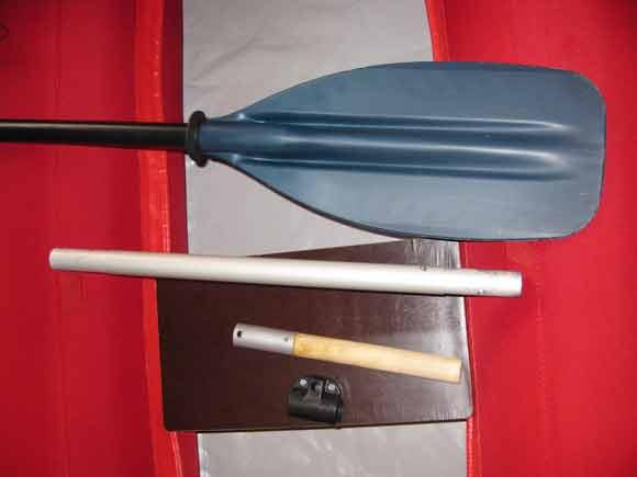 Апгрейд весла для лодки Тайга 430