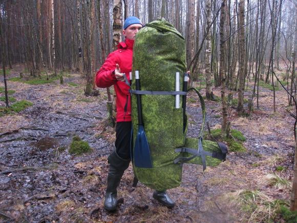 Удобный и большой походный рюкзак конструкции Дмитрия Рюмкина