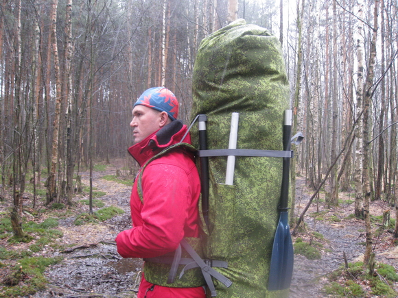 Большой походный рюкзак на 200 литров