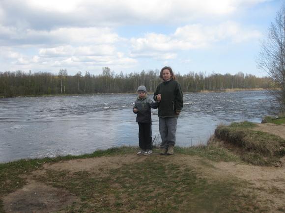 Река Бурная, порог Падунец