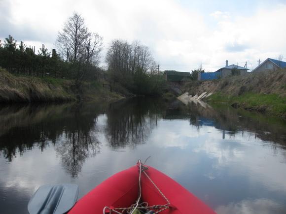 Сплав по реке Вьюн