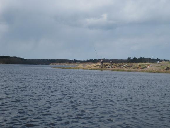 Река Вьюн у впадения в реку Бурная