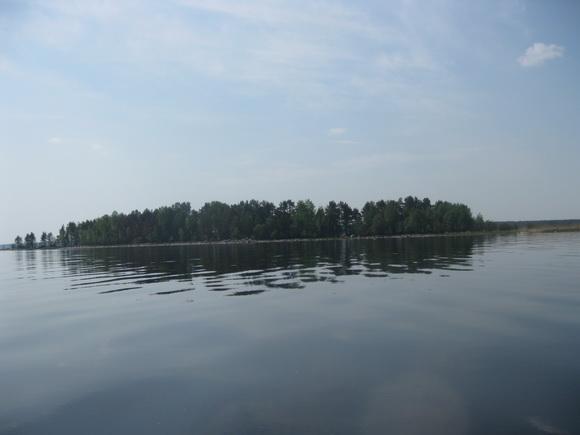 Остров Узкий в Ладожском озере