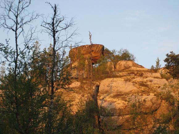 Летучий камень - самый большой сейд Кольского