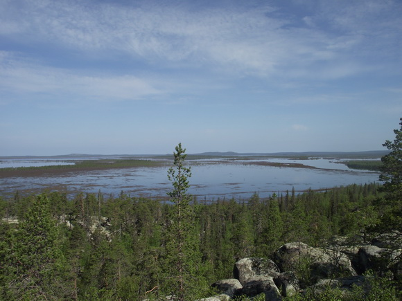 Вид с горы Летучего камня