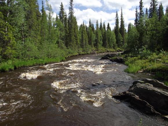 Река Серга. Водопад Двинский
