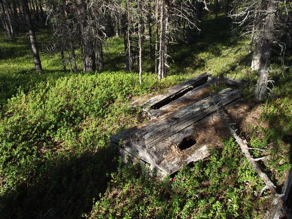 Деревня Чальмны-Варрэ, древнее саамо-ижемское кладбище