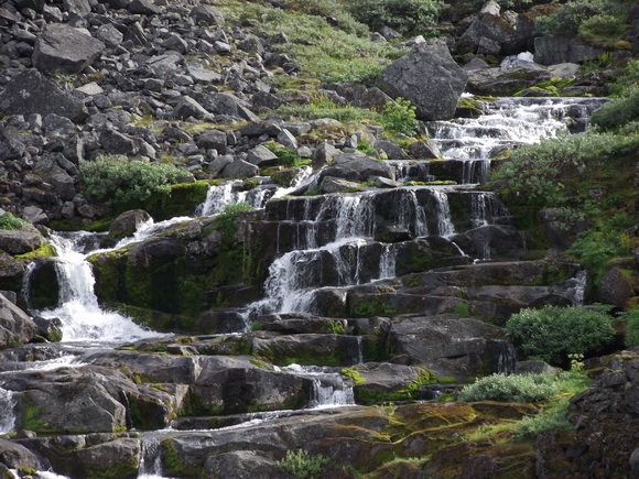 Ловозерские тундры: водопады