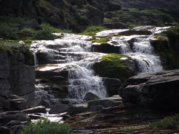Ловозерье, водопады