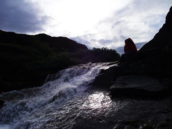Водопады на ручье Мурнуай, Ловозерье