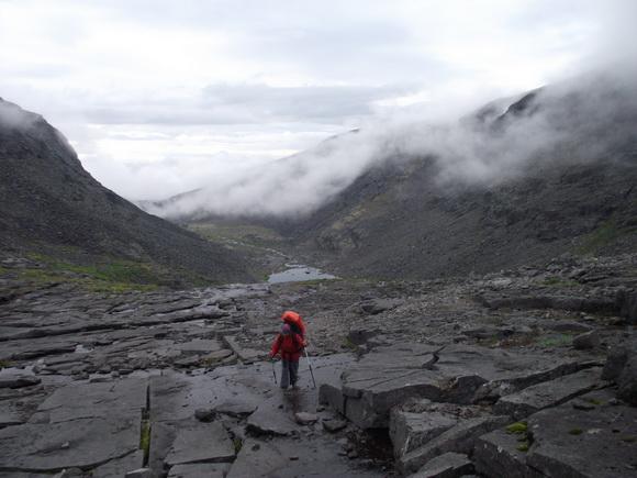 Ловозерские тундры. На перевал Северный Тавайок