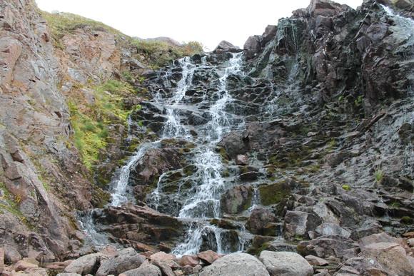 Водопад рядом с Териберкой