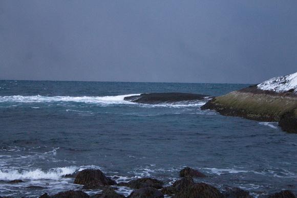 Баренцево море, губа Лодейная
